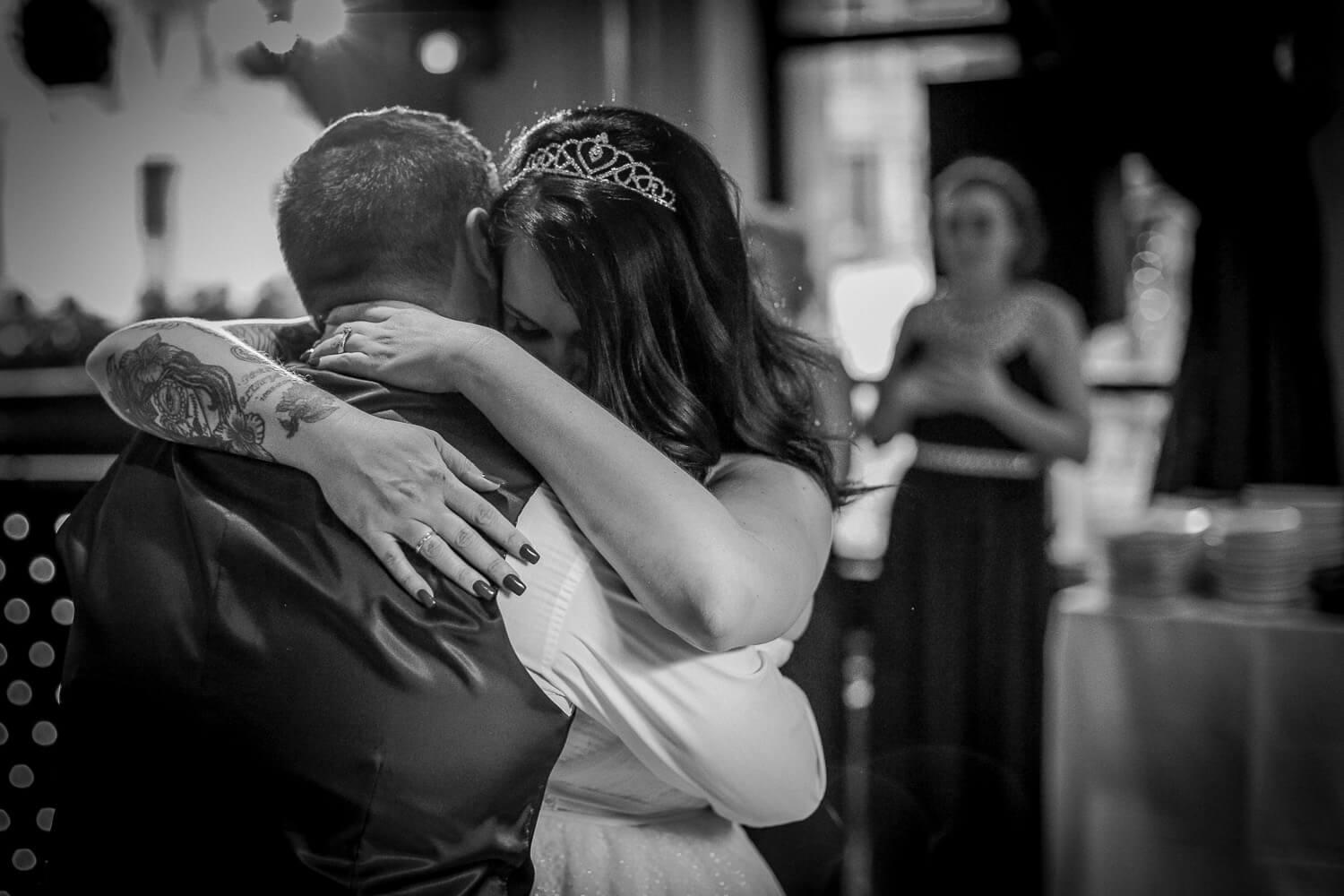 First dance Sir Thomas Hotel, Liverpool city wedding photographer