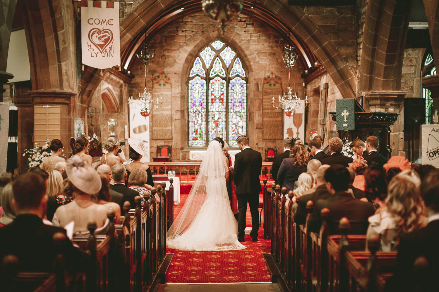 Wedding ceremony All Saints Church Liverpool