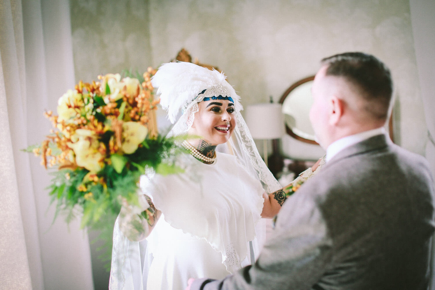 ASHFIELD HOUSE WEDDING PHOTOGRAPHER: VINTAGE WEDDING