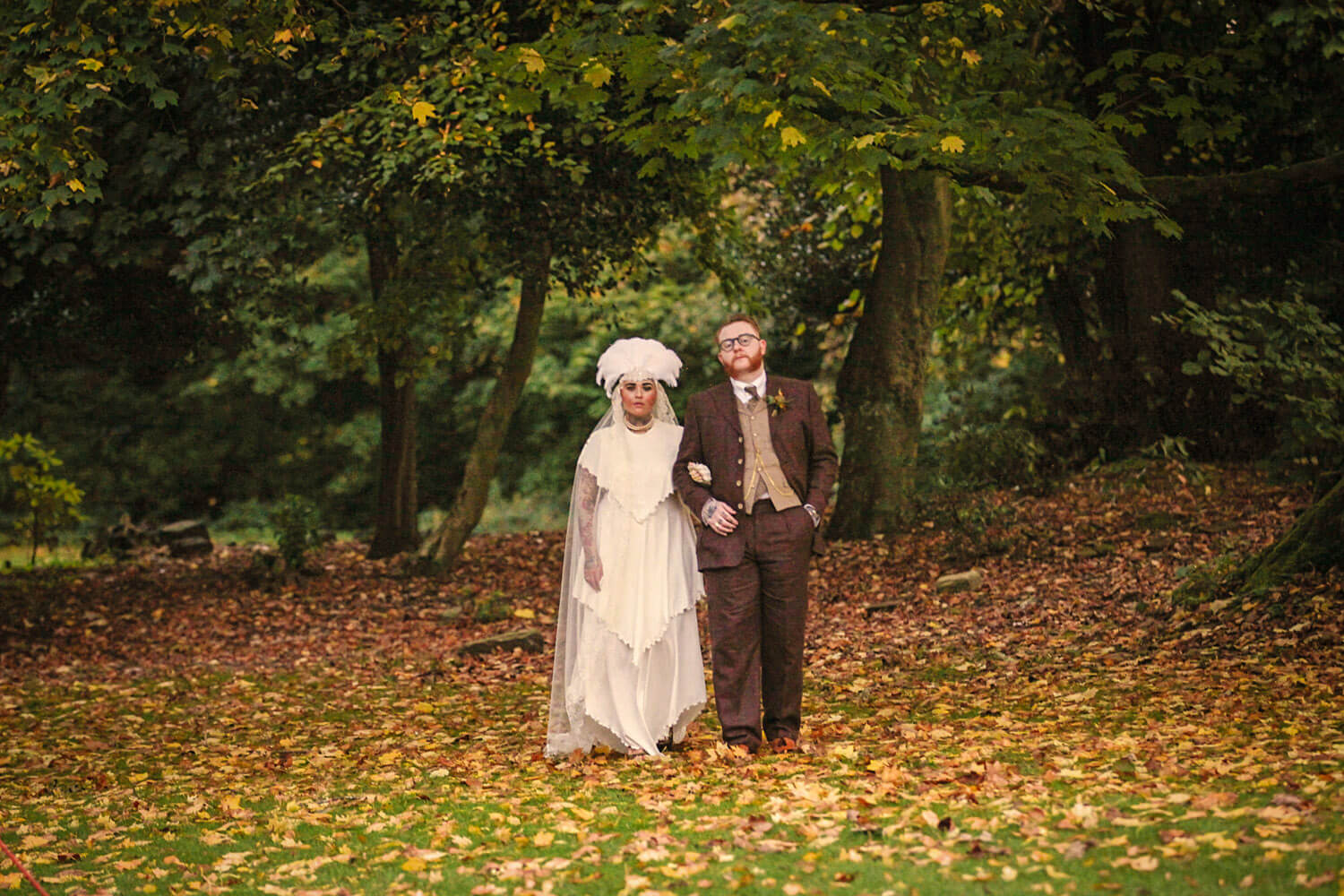 Ashfield House autumn vintage wedding