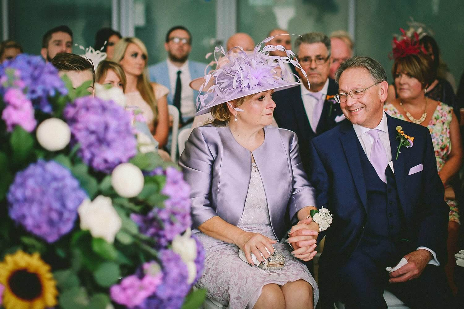 Proud Mum and Dad Royal Liver Building wedding photography