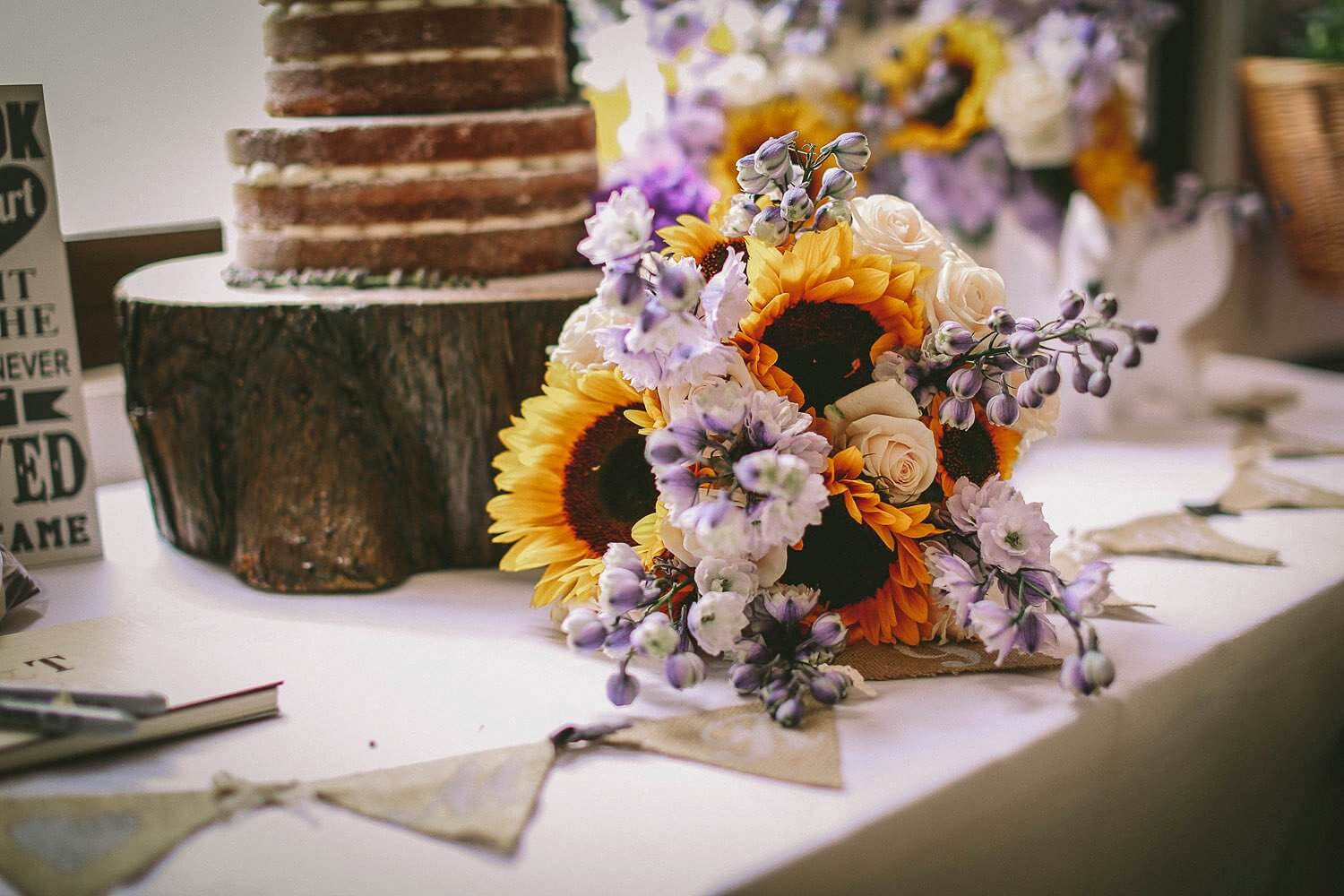 Sunflowers Royal Liver Building wedding photography