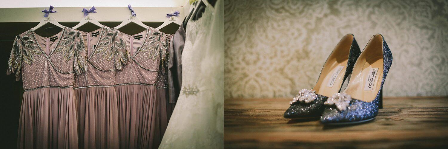 Ronald Joyce wedding dress Jimmy Choo shoes Royal Liver Building wedding photography