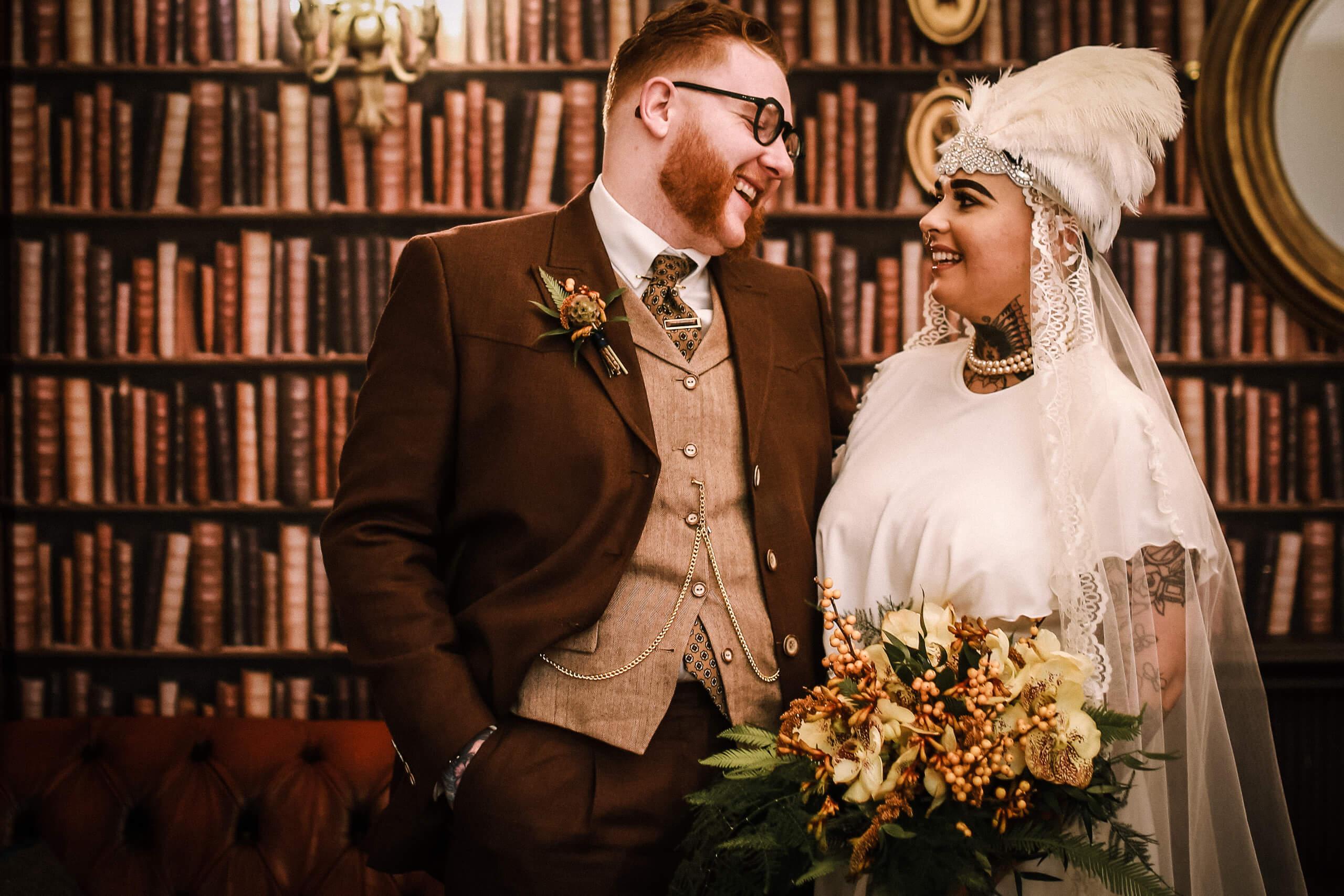 Ashfield House Vintage wedding photographer