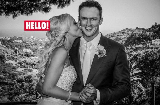 50 most memorable celebrity weddings of the decade Hello Magazine. Russell Watson wedding