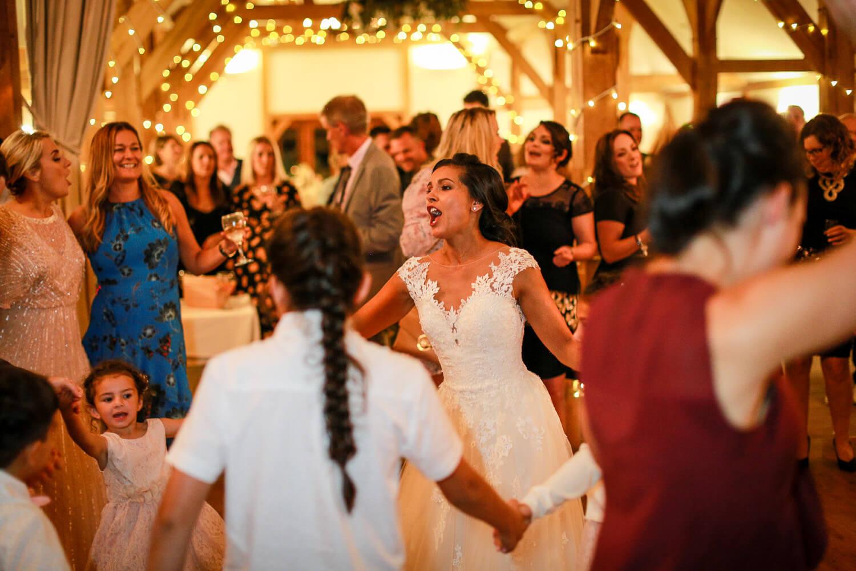 First dace Sandhole Oak Barn wedding