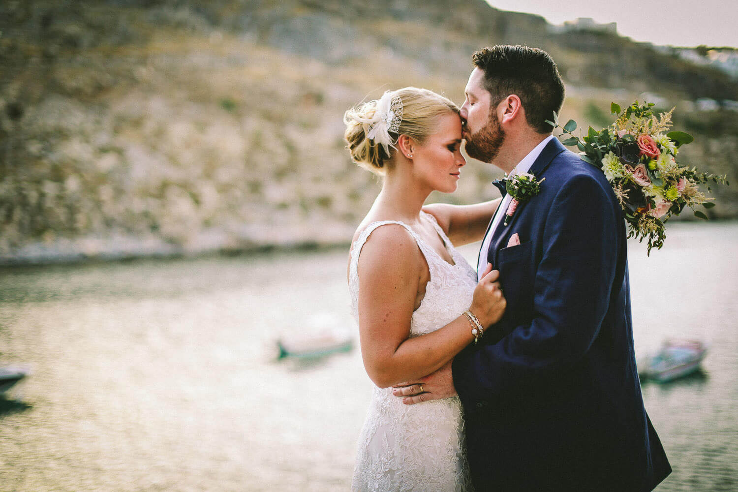 Wedding St Pauls Bay Lindos Rhodes wedding photography