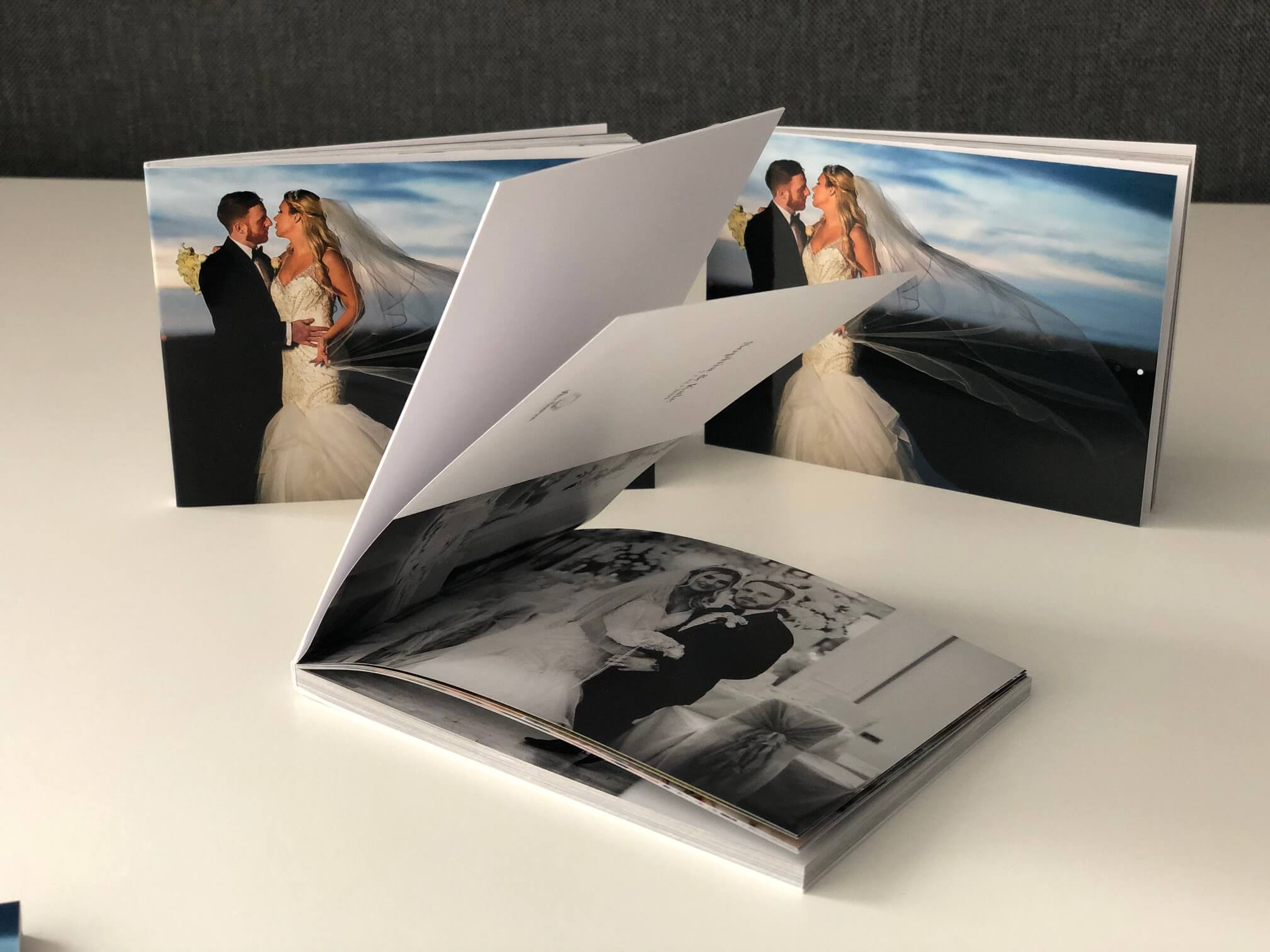 Storybook wedding album pocketbooks