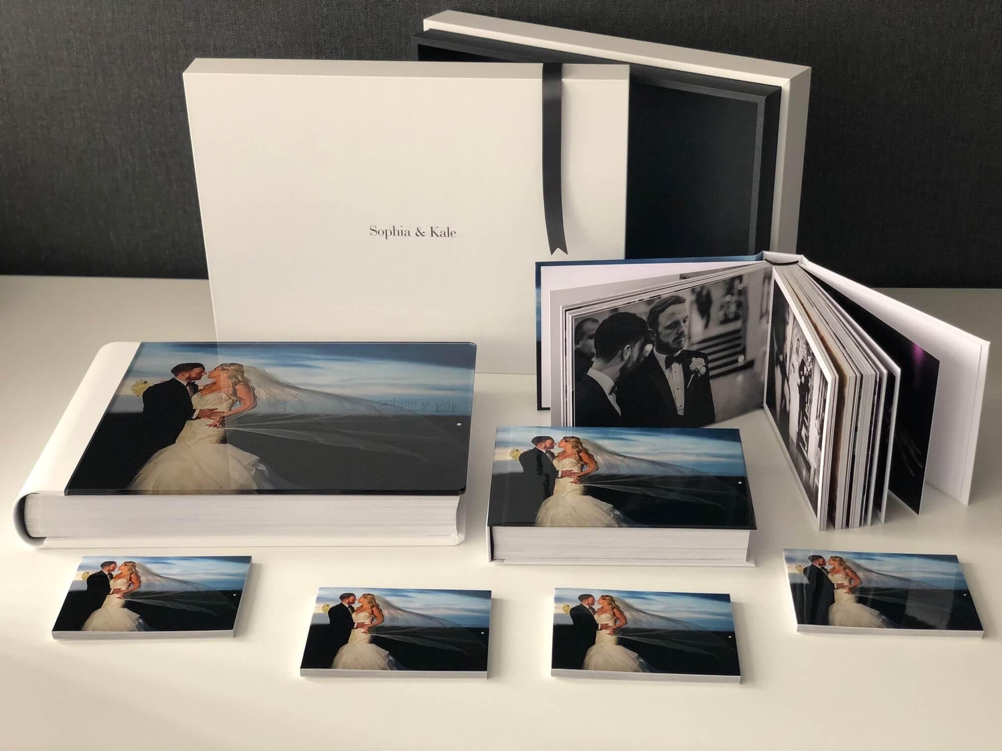 Storybook wedding album collection