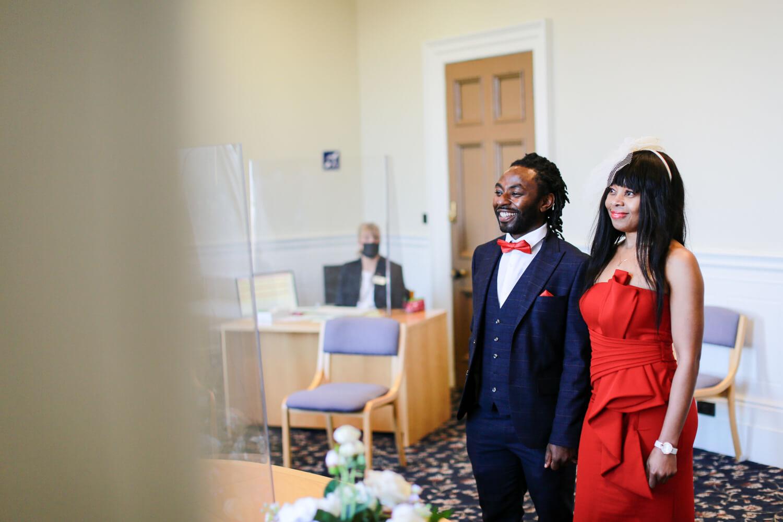 Covid wedding Liverpool