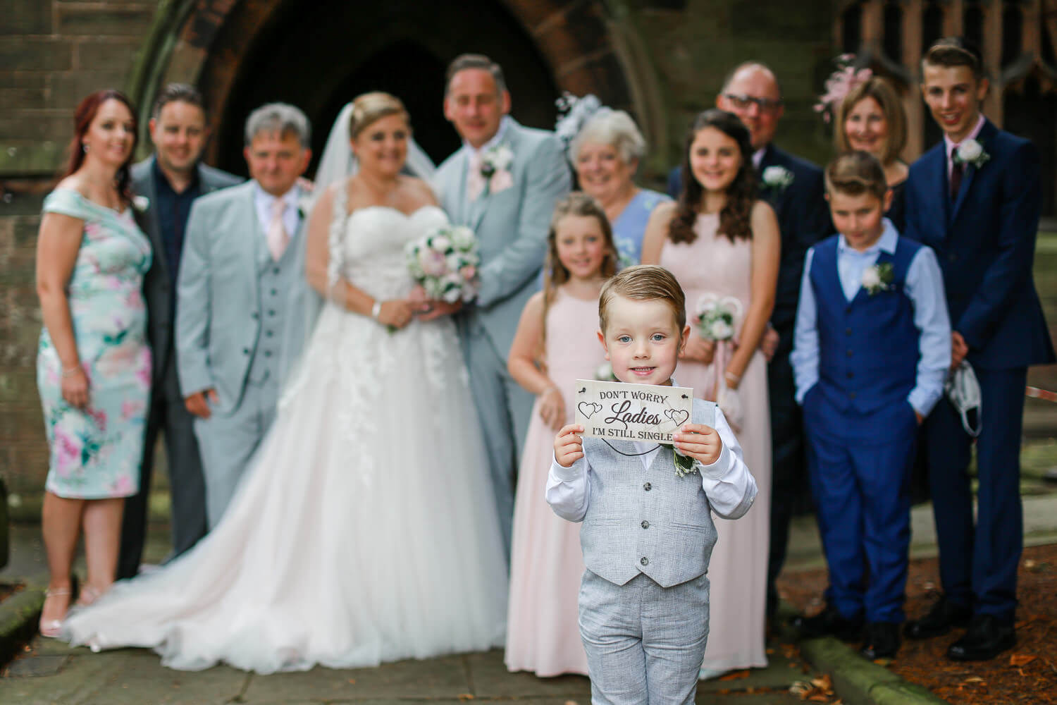 Covid wedding photography