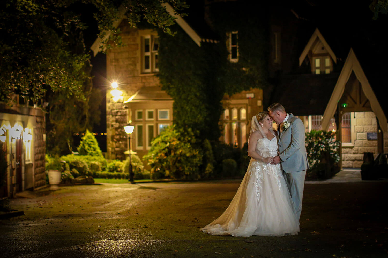 Covid wedding photography West Tower