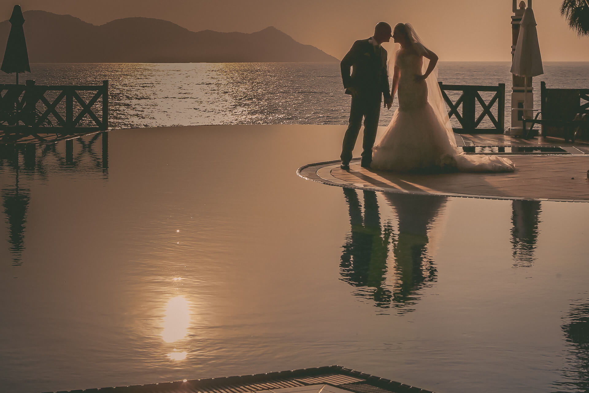 Destination wedding photographer UK Wes Simpson